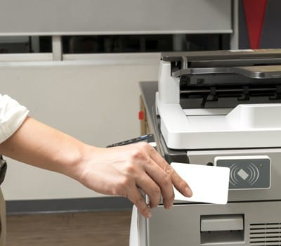 Mifare Card on Photocopier