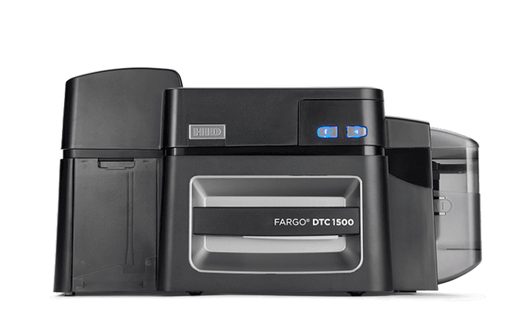 Fargo DTC1500 ID Card Printer Front Image